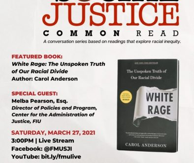 Social Justice Common Read - White Rage by Carol Anderson